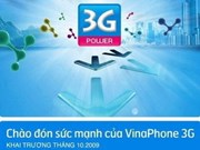 Vinaphone, first to launch 3G in Vietnam