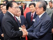 Party chief wraps up Cambodia visit