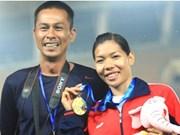 Vu Thi Huong: Best athlete
