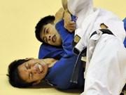 Vietnam wins two golds at Hanoi judo tourney