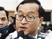 Court delays sentence on Sam Rainsy