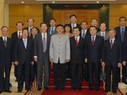 Party official welcomes Chinese friendship association delegation