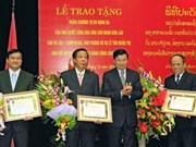 Laos grants Freedom Order to Vietnam's Party units