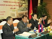 Book on Vietnam-Laos special relations appraised