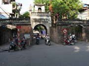First-phase restoration of Hanoi's last ancient city gate completed