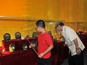 Showroom preserves Thang Long citadel's objects