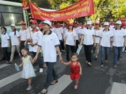 Over 12,000 people walk for the poor