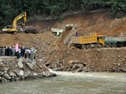 Hydro-electric power plant built in central Viet Nam