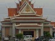 Ethnic minority people return from Cambodia