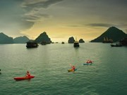 Vote for Ha Long bay by telephone