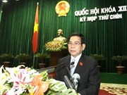 State, Gov't leaders present 2007-2011 term reports