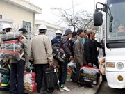 Joint efforts to help Vietnamese workers from Libya