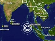 Another strong quake hits Indonesia