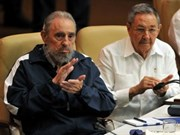 Raul Castro elected Cuban Party leader