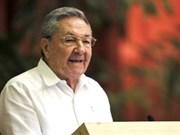 Party leader congratulates Cuban party