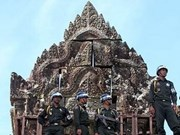 ASEAN calls on Cambodia, Thailand to end arms