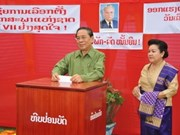 Laos' National Assembly election begins