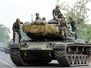 Fighting still going at Cambodia-Thailand border
