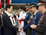 PM arrives in Indonesia for 18th ASEAN Summit