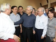 Party leader meets Hanoi voters
