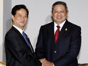 PM Dung raises sea issues with Indonesian President