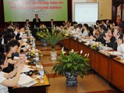 Vietnam seeks more public-private partnerships