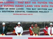 PM kicks off construction of southern coastal road