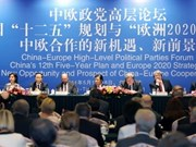 China-Europe political parties forum opens