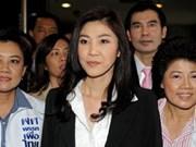 Thaksin's sister casts eye on Thai PM job