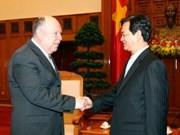 Leaders receive outgoing Turkish Ambassador