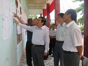 Quang Binh holds early elections in remote communes