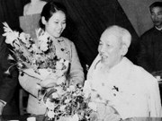Meeting marks President Ho Chi Minh's birthday