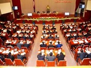 Seventh Lao National Assembly's first session closes