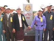 Vietnam-Laos border markers upgraded