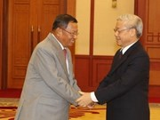 Party leader affirms priority in developing ties with Cambodia