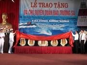 Truong Sa stones reach northern Ninh Binh province