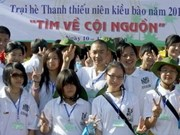 VN Summer Camp 2011 arrives in Nghe An