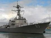 US naval ships visit Da Nang city
