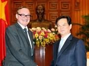 PM meets WB Director, Belgian Ambassador