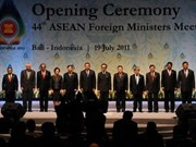 ASEAN Foreign Ministers gather in Bali