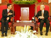 Party General Secretary farewells Chinese ambassador
