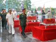 Fallen soldiers in Cambodia repatriated