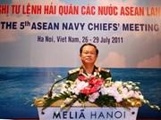 ASEAN Naval Chiefs' Meeting opens in Hanoi