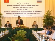 VN, Thailand mark relations with regional focus