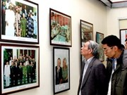 Exhibition captures moments of General Giap
