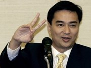 Abhisit Vejjajiva re-elected as Thai Democrat Party leader