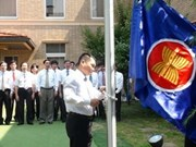 VN embassies hoist ASEAN flag on founding day