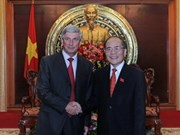 Hanoi welcomes Russian State Duma leader