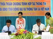 VNA, Dong Nai sign information cooperation deal