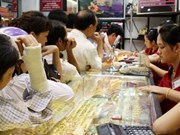 Gold price up nearly 2.8 mln VND in a week